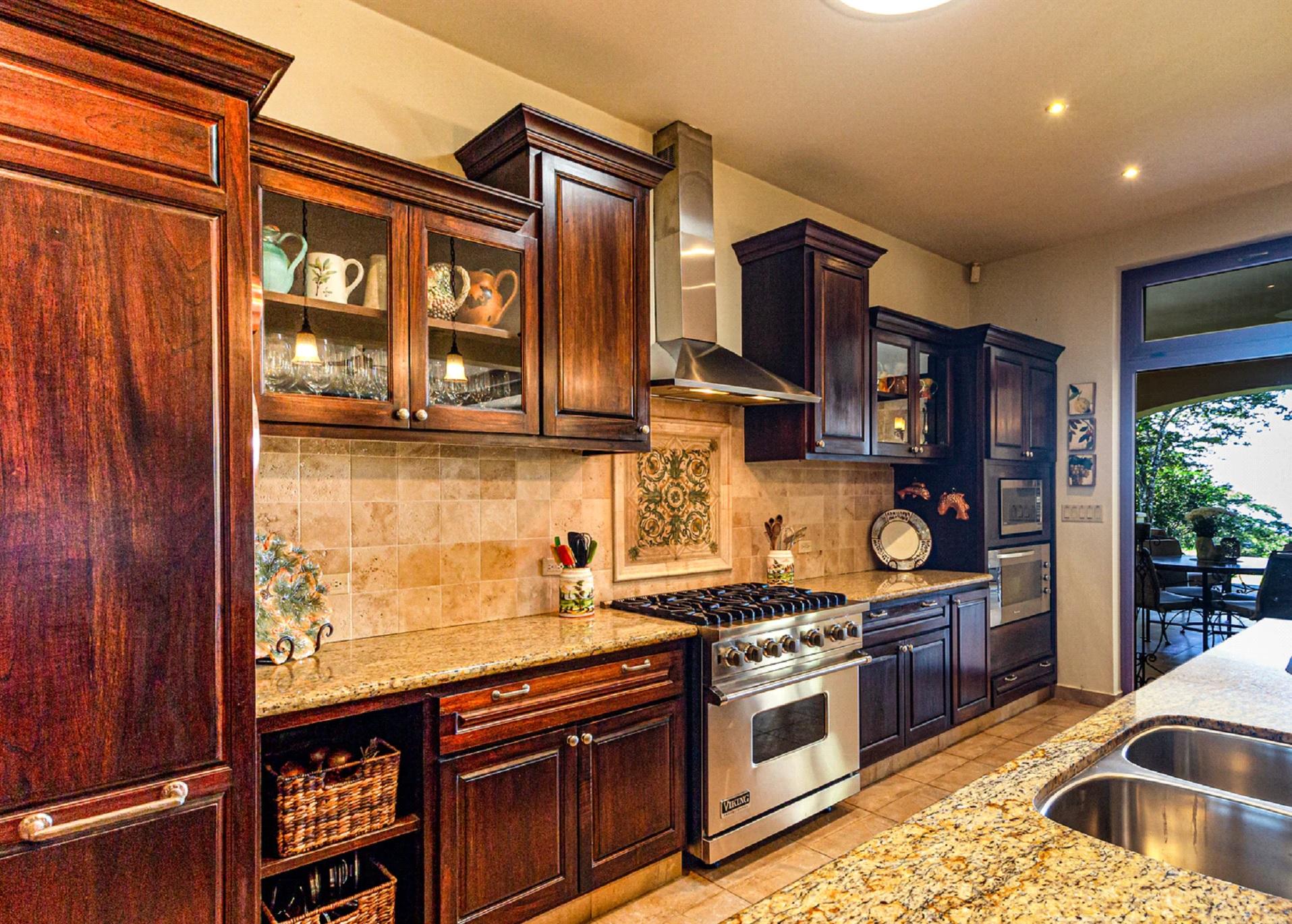 Natural Wood Cabinets